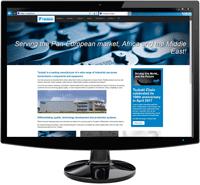 Webseite klein
